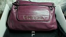 Authentic Chanel lax East West Lambskin