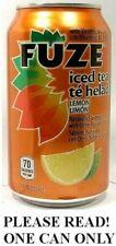Fuze Limón Ice Tea Ee.uu. 2012 Con Vitamin B6 B12 Nuevo Completo 355ml American