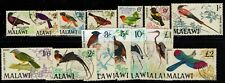 MALAWI 1968 BIRDS DEFINITIVE SET sg 310/323   FINE USED