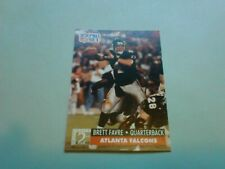 1991 PRO SET ROOKIE BRETT FAVRE FALCONS  HOF #762 Packers