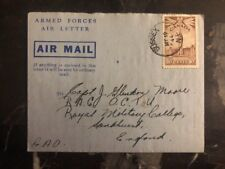 1944 Sussex Canada Air Letter Armed Forces Cover To England