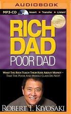 MP3 Rich Dad Poor Dad What the Rich Teach Their Kids about Money Robert Kiyosaki
