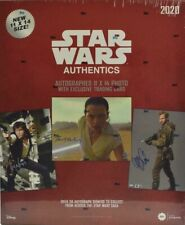 2020 Topps Star Wars Blind Authentics Autographs Hobby Box Sealed!