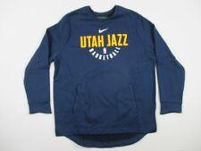 NEW Nike Utah Jazz - Navy/Yellow Pullover (2XL)