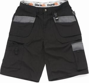 Durakit Black Work Wear Shorts    SIZE  30''