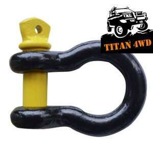Roadsafe 4x4 bow shackle 4750kg rated recovery