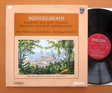 SAL 3727 Mendelssohn Symphony no. 4 & 5 Wolfgang Sawallisch 1966 NM/EX