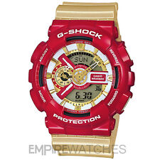 * NUOVO * Casio G-Shock Uomo HYPER COMPLEX IRON MAN WATCH-ga-110cs-4a - Rrp £ 185