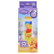 DISNEY WINNIE THE POOH  COLOUR CHANGING NIGHT LIGHT BRAND NEW IN BOX