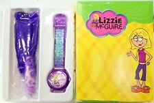 disney lizzie mcguire wrist watch and key chain set brand new in box