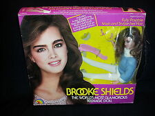Brooke Shields Glamorous Teenage Doll 1982 Wash Stylize Hair Posable Blue Top