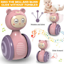 Baby Educational Rattles Tumbler Doll Baby Toys Roly-poly Learning Toys Us