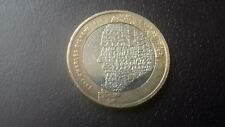 £2 2012 CHARLES DICKENS 200 ANNIVERSARY TWO POUND COIN. GOOD CONDITION - USED.