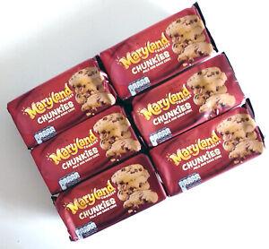 Maryland Chunkies Cookies Milk & Dark Chocolate  8 x 144g - Best Before 30/09/21