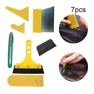 7in1 Car Window Tint Tools Kit Film Tinting Scraper Application Installation UK