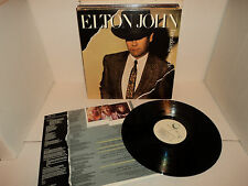 ELTON JOHN BREAKING HEARTS '81 HAPPENSTANCE LP GIFTY NM+