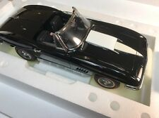 1/12 Franklin Mint Black 1967 Corvette  L88 Connoisseur's Series B11D749 # 121