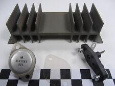 Spannungsregler LM309K + Kühlkörper + Glimmerscheibe + Fassung