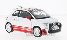 Fiat Abarth 500 R3T weiss/rot - 1:24 MotorMax  >>NEW<<