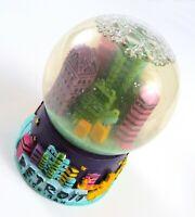 Vintage Detroit Michigan Snow Globe Souvenir