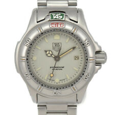 TAG HEUER 999.708A 4000 series gray Dial Quartz Ladies Watch F#97974