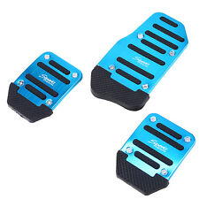 Universal 3Pcs Car Non-Slip Car Foot Pedals Pad Covers Manual Transmission M/T