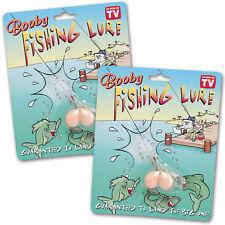 NEW Boobie Fishing Lure Gag Set- As Seen on TV Items (Set of 2)