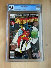 Spider-woman #1 CGC 9.6 NM+ white ORIGIN 1978 1st series MARVEL Wolfman