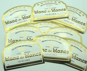 LOT 100 etiquettes  VIN BLANC / LE CAM-LOCMINE /LABELS BOISSON ALCOOL  OLD