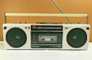 VINTAGE 1980's Panasonic RX-F20 Radio Tape Player Boom Box - SEE VIDEO - NICE!