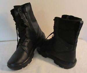 NEW Under Armour Mens UA FNP Zip Tactical Boots 12 Black MSRP$155