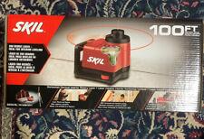 New Sealed Skil 360 Degree 100ft Horizontal Vertical Rotary Self Leveling Laser