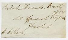 Libre avant 1828 Signé M Milbank à Bedale. Thorp AS, Rogue