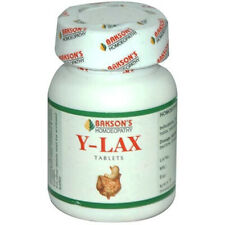 Pack of 5 Homeopathic Bakson Y Lax 150 tablets Free Shipping