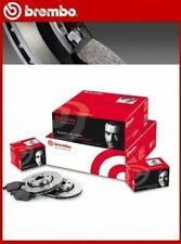 Pack 2 Disques 4 Plaquettes de Frein Avant Brembo Renault Laguna III Grandtour