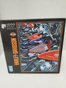 FX Schmid Harley-Davidson (1000 Piece Puzzle) Thunder Row