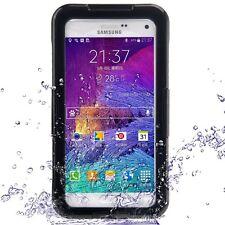 Samsung Galaxy Note 4 Wasserdicht Stabiles Schutz Stoßfest transparent Hülle