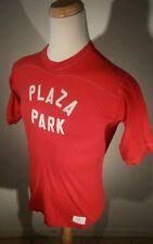 Vintage 80's Wolf School Physical Education Plaza Park Surf Baseball T Shirt L