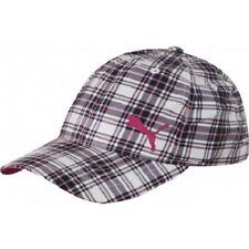 Puma Tempo Relaxed Fit Golf Cap Baseball Cap - Black/Pink *NEW*