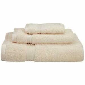 Superior Egyptian Cotton 3-Piece Towel Set Ivory