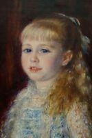 "perfect 24x36 oil painting handpainted on canvas""a girl""N14287"