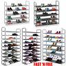 50 Pair 5/8/10 Tier Shoe Rack Storage Organizer Tower Free Standing Space Saving