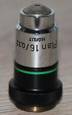 Zeiss MICROSCOPIO Microscope obiettivamente piano 16/0, 32