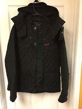 Men's Armani Jeans Blouson Jacket Size XL Black Retail price 395.00