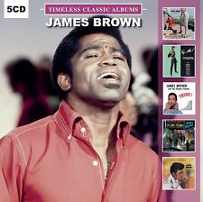 James Brown TIMELESS CLASSIC ALBUMS Think! LIVE AT THE APOLLO New Sealed 5 CD
