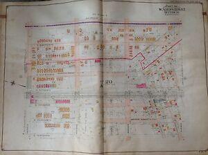 1907 MIDWOOD GRAVESEND VITAGRAPH STUDIOS AVENUE J TO AV M BROOKLYN NY ATLAS MAP