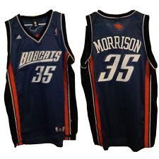 Vtg Adam Morrison Charlotte Bobcats Adidas NBA Jersey #35 Men's  Sz XL 56 X 36