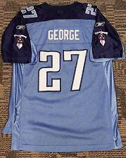 Vintage Eddie George Tennessee Titans Youth Jersey Size Lg Reebok EUC