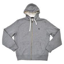Polo Ralph Lauren Mens Hoodie Full Zip Fleece Sweatshirt Pony Logo New Prl