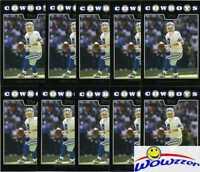 (68) 2008 Topps Black #11/12 Tony Romo Lot Cowboys $85